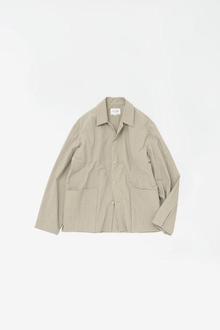 Still By Hand Layered nylon jacket - beige