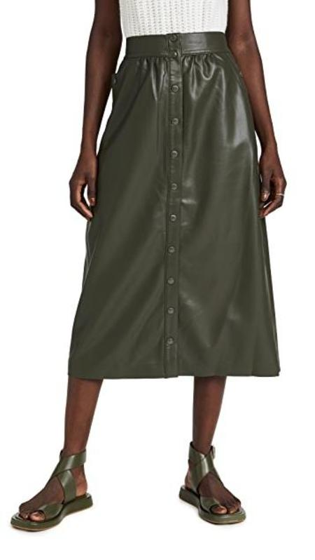 Sea NYC Lena Vegan Skirt - green