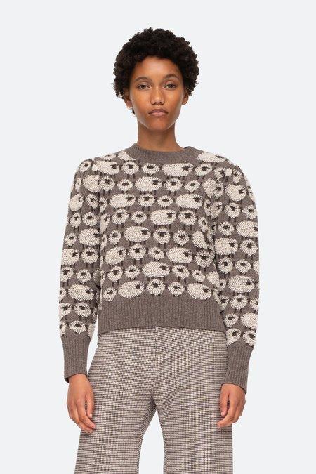 Sea NYC Reese Sheep Sweater - multi