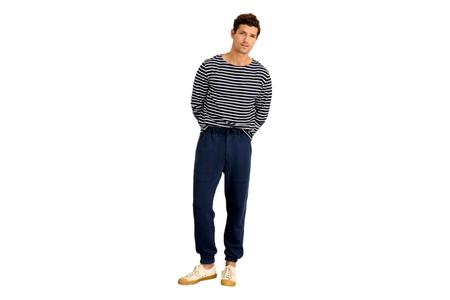Alex Mill Field French Terry Sweatpant - Navy