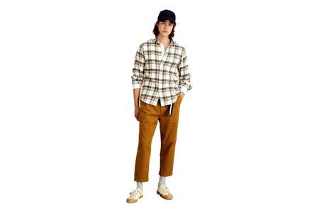 Alex Mill Flannel Mill Shirt - Ecru