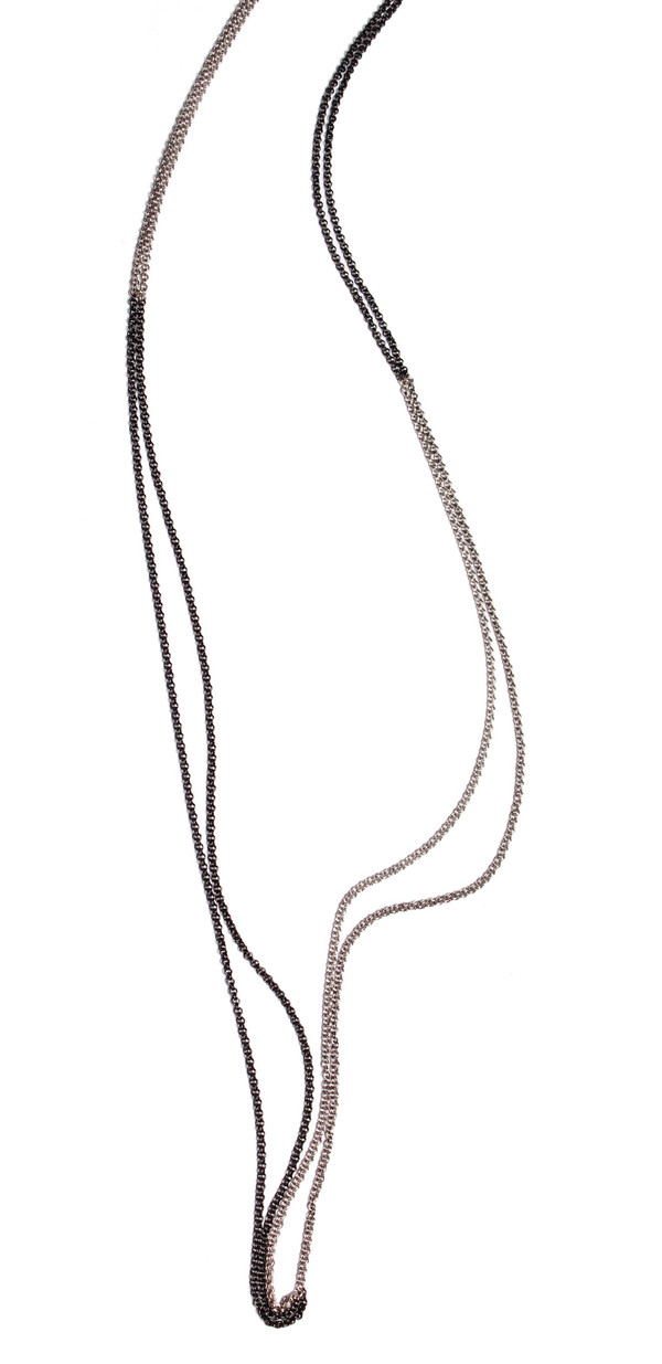 Nancy Caten Long Quartered Necklace