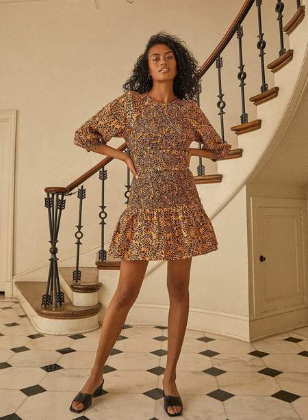 Saylor Mia Dress - Multi