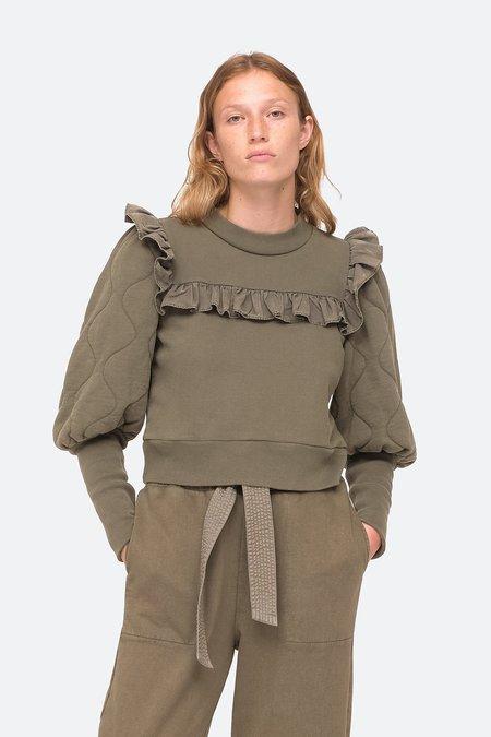 Sea NY Layla Sweatshirt - Army