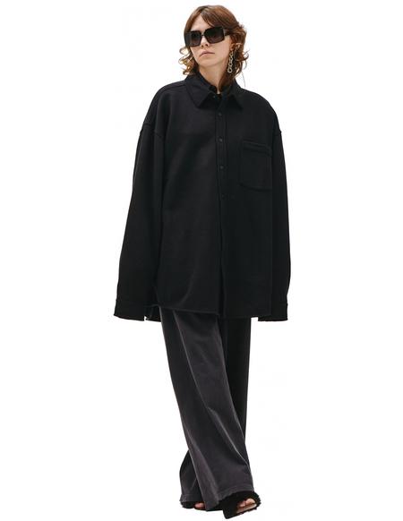 Balenciaga Black oversized shirt - Black