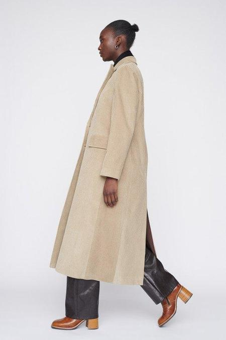 Our Legacy Extended Coat - Clay Grey Cord
