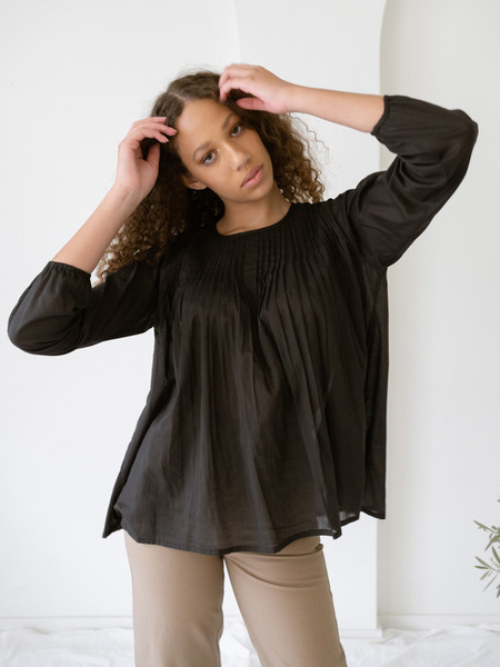 LAUDE the Label Simone Top - Black