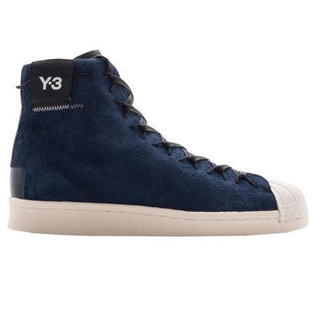 Adidas Y-3 Super Hi Shoes - Navy
