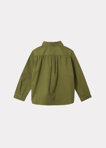 Kids Caramel Kore Shirt - Military Green