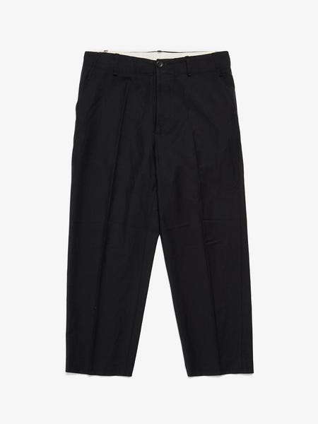 Rick Owens M Black Wool Trousers
