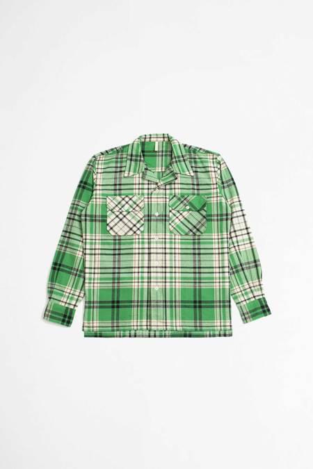 Sunflower Gibson shirt - green check