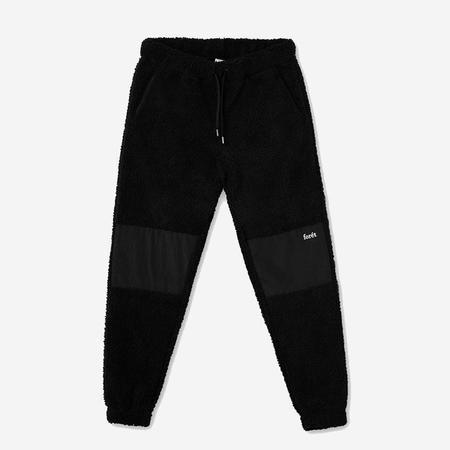 Foret Well Fleece Pants - Black