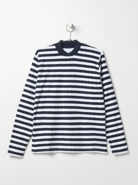 Barbour M_ANDO STRIPED TEE - NAVY