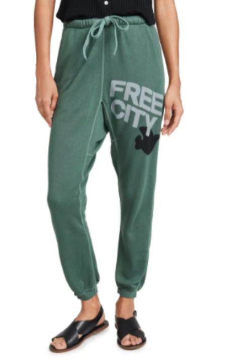 FREECITY free city superfluff pocket lux sweatpant - bush