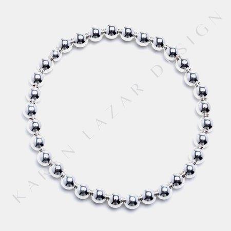 Karen Lazar 5mm Bracelet - Sterling Silver