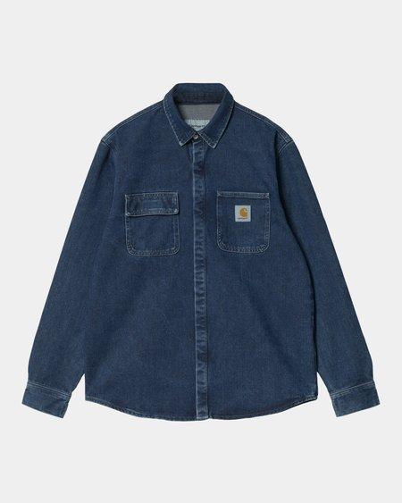 CARHARTT WIP Salinac Shirt Jacket - Blue Stone Washed