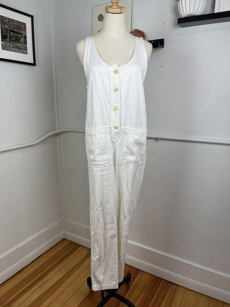 [pre-loved] Jungmaven Jumpsuit - White
