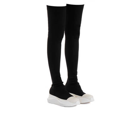 RICK OWENS DRKSHDW Abstract Stockings Boots