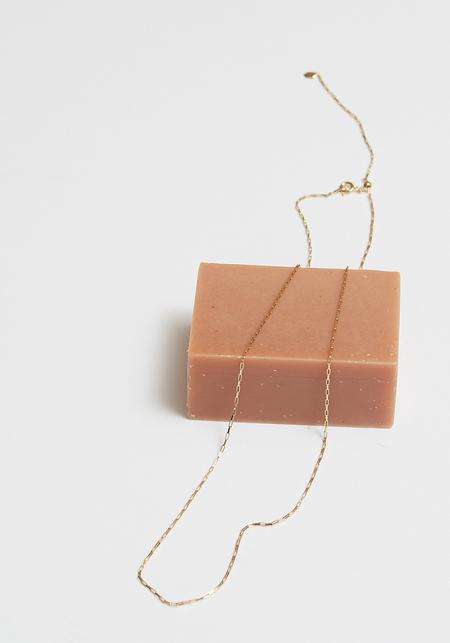 Maria Black Piper Necklace - Gold