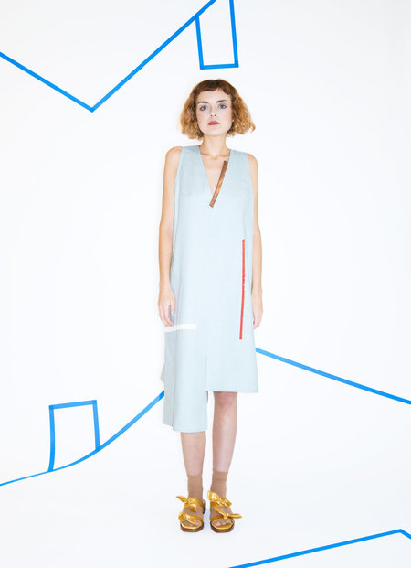 _SCAPES NY Linen Waterwing Dress