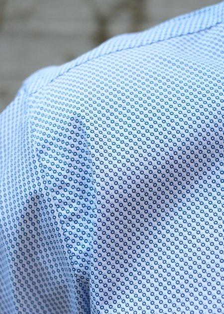 Bruun & Stengade Moraes Printed Shirt - Blue