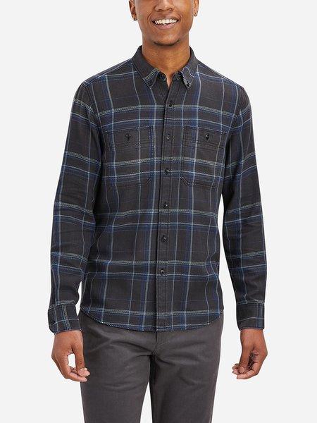 O.N.S Fulton Denim Flannel Pocket Shirt - Black Check