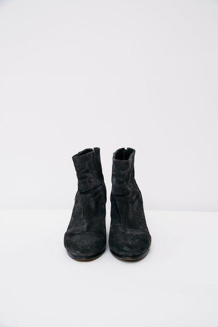 Rag & Bone Suede Newbury Ankle Boot - Charcoal