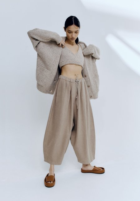 Mónica Cordera Ramie Maxi Pants - Nomad