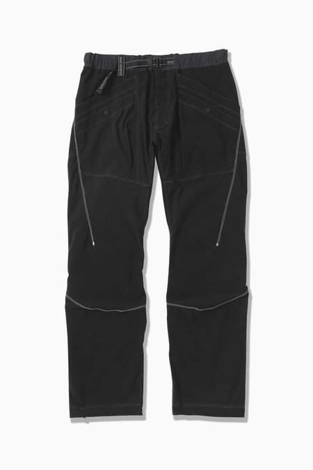 And Wander Pocket Stretch Pants - Black
