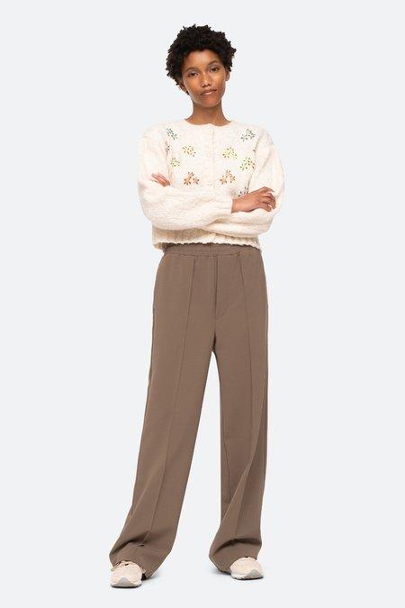 Sea NY Lilou Pants - Cream/Gray