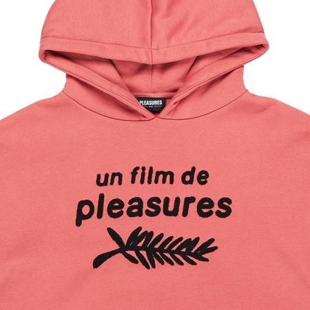 PLEASURES Film Hoody - Salmon