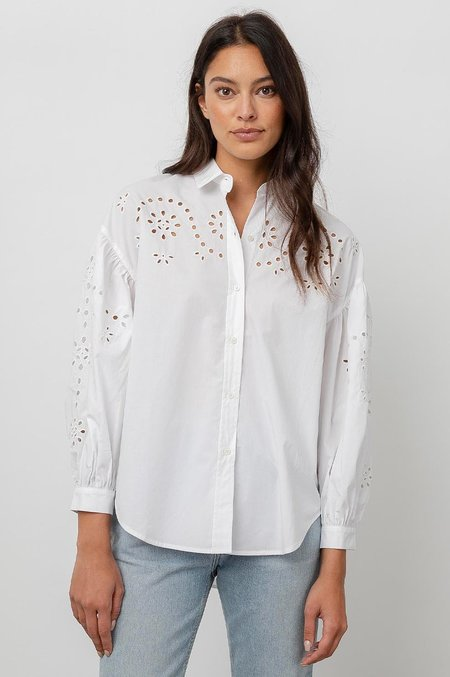 Rails Alister Shirt in White