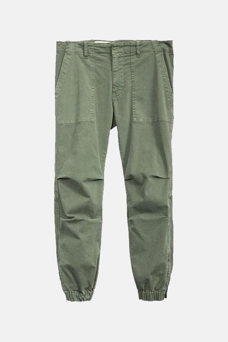 Women's Nili Lotan Cropped Military Pants in Camo, Size 4