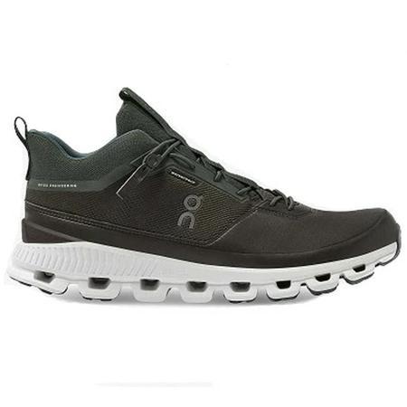 ON RunningCloud Hi Waterproof Shoes  - Fir / Umber