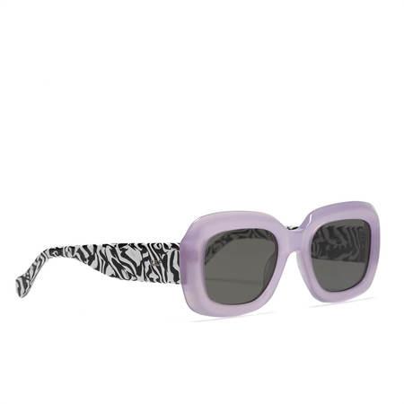RetroSuperFuture SUPER SUNGLASSES Virgo Zebrato Sunglasses - lilac/zebra pattern