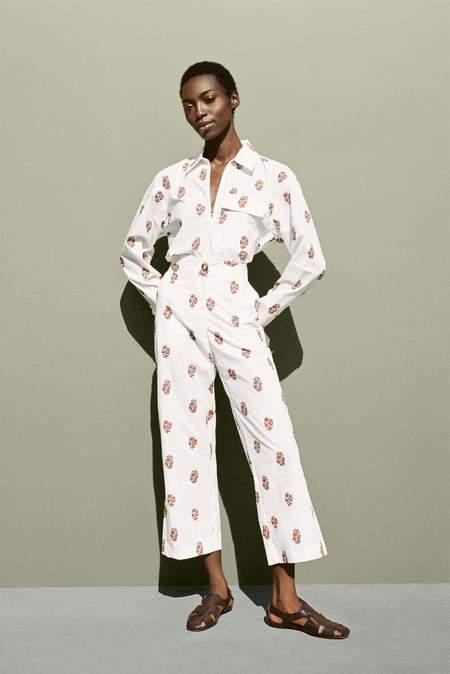 ciao lucia Tabitha Shirt - Printed Blush
