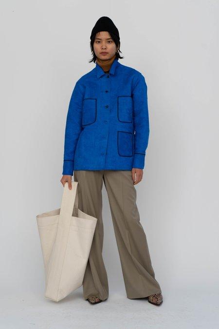 Index Series Toulon Faux Suede Shirt jacket