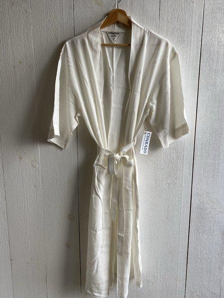 Conrado Mya Lounge Robe - New White