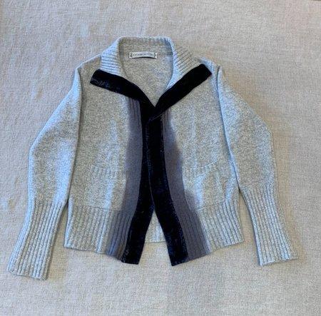 Viviana Uchitel sweater 100% Cashmere - Blue Ombre