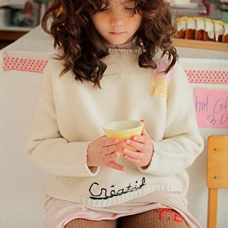 Kids Tambere Child Ava Sweater - Cream
