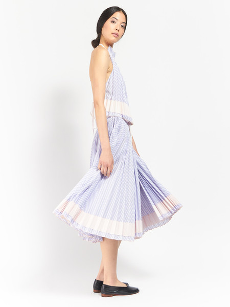 Adam Selman Spring Affair Pleated Skirt