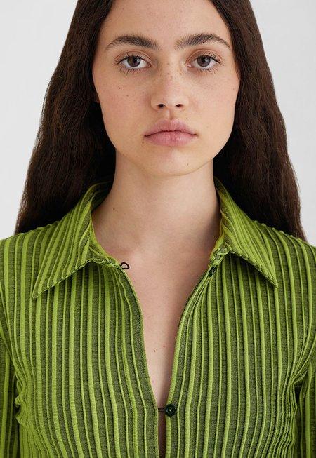 Paloma Wool Cenit Shirt - Medium Green