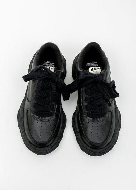 Mihara Yasuhiro All Original Sole Leather Sneaker - Black