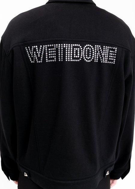 we11done Logo Stud Jacket - Black