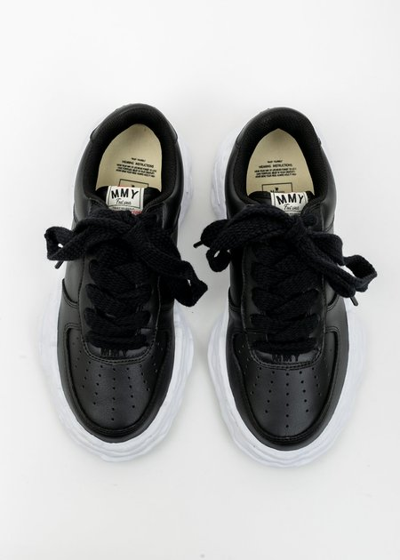 Mihara Yasuhiro Original Sole Leather Sneaker - Black