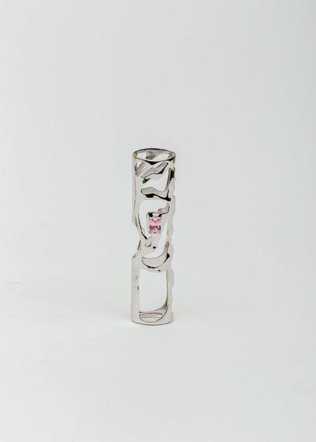 William Shen Zircon RELX Cover - Silver/Pink