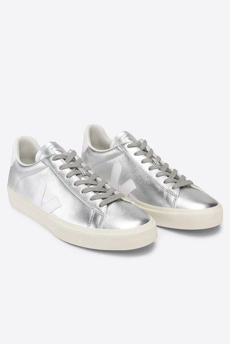 VEJA Campo Chromefree Sneaker - Silver White
