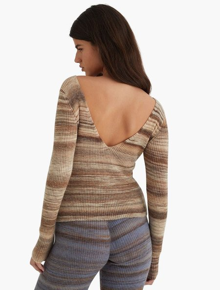 Paloma Wool Concordia Top - Light Brown