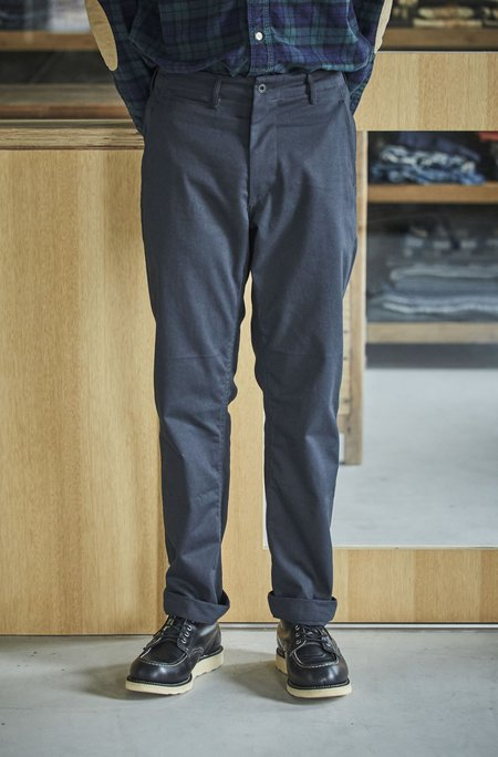 orSlow Slim Fit Army Trouser - Black