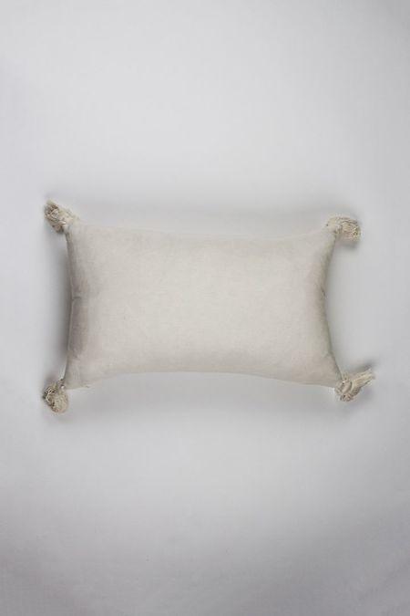 Archive New York Comalapa Pillow - Natural White